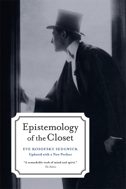 Epistemology Of The Closet Updated With A New Preface Eve Kosofsky Sedgwick Paperback