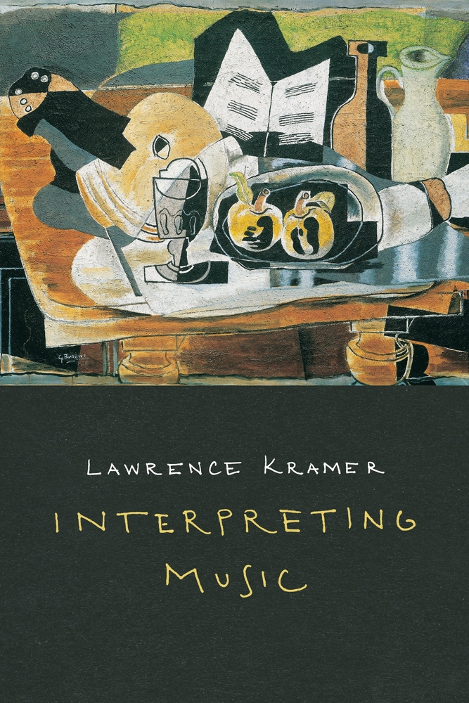Cover image for Interpreting Music by Lawrence Kramer