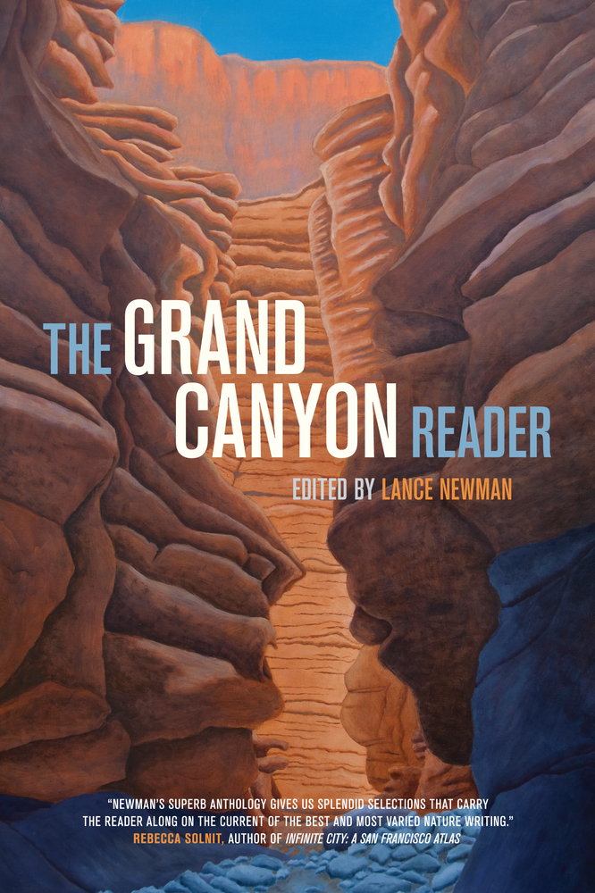 Book Cover Images Isbn : The grand canyon reader by lance newman paperback