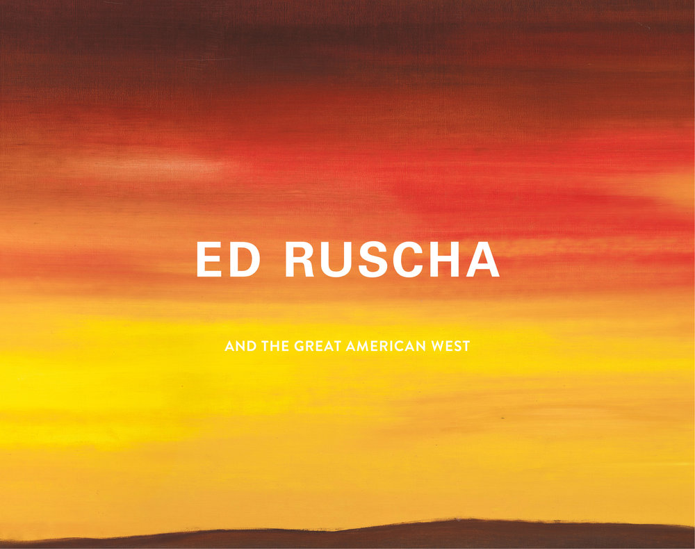 Ed Ruscha And The Great American West Karin Breuer