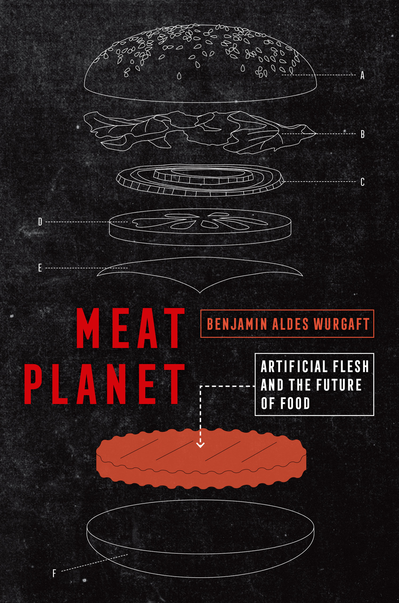 Book cover for Meat Planet